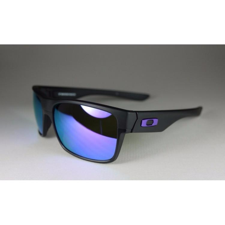 Óculos Oakley Twoface Preto Roxo Espelhado